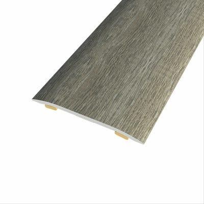 Laminate Stickdown Threshold Coverstrip San Diego Oak 2.7m