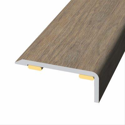 Laminate Stickdown Threshold End Section Kolberg Oak 2.7m