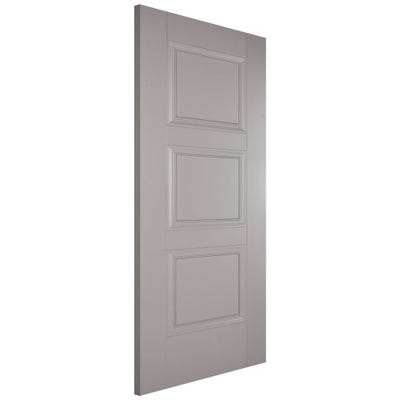LPD Internal Grey Amsterdam 3 Panel FD30 Fire Door