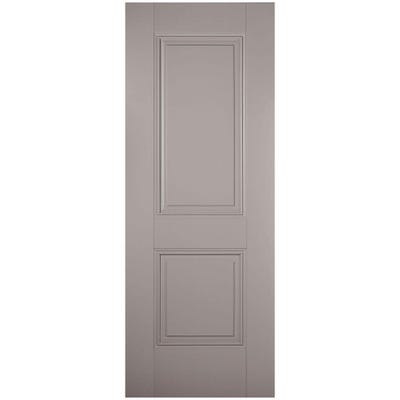 LPD Internal Grey Arnhem 2 Panel Door