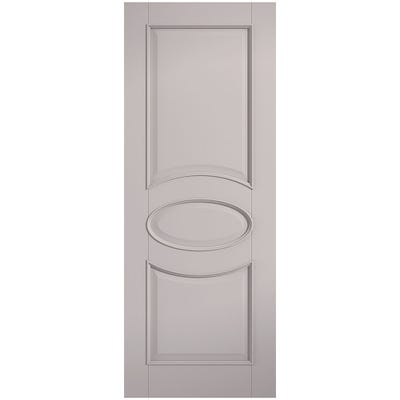 LPD Internal Grey Versailles 2 Panel FD30 Fire Door
