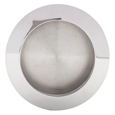 LPD Gemini Pocket Door Polished Chrome Handle 230 x 160mm