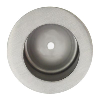 LPD Virgo Pocket Door Satin Chrome Finger Pull 230 x 160mm