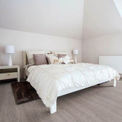Luvanto Endure Pro QAF-LEP-06 Washed Grey Oak Vinyl Flooring