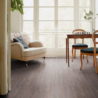Luvanto Endure Pro QAF-LEP-05 Vintage Grey Oak Vinyl Flooring