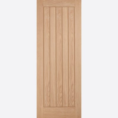 LPD Internal Oak Belize 5 Panel FD30 Fire Door 1981 x 610 x 44mm