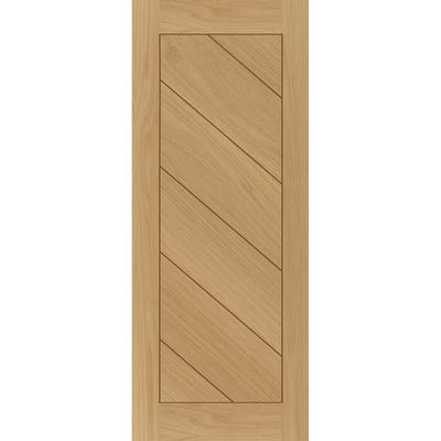 Deanta Internal Oak Torino 6 Panel Prefinished FD30 Fire Door 1981 x 762 x 44mm