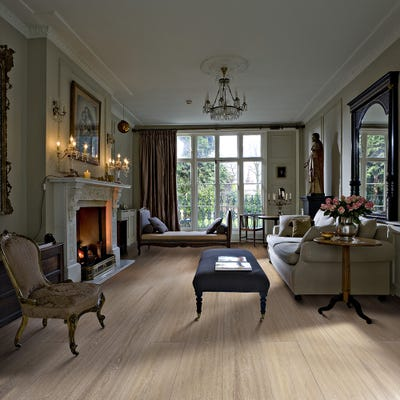 Kahrs 20 x 260mm Oak Grande Manor Brushed and Oiled T&G Engineered Wood Flooring