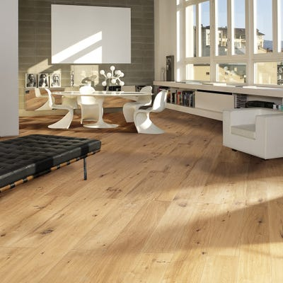 Kahrs 20 x 260mm Oak Grande Casa Oiled T&G Engineered Wood Flooring
