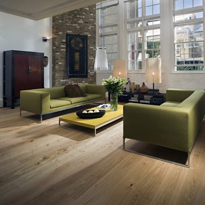 Kahrs 15 x 187mm Oak Hampshire Matt Lacquered Click Engineered Wood Flooring