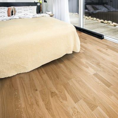Kahrs 15 x 200mm Oak Verona Ultra Matt Lacquered Click Engineered Wood Flooring