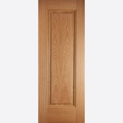LPD Internal Oak Eindhoven 1 Panel Prefinished Door 1981 x 838 x 35mm