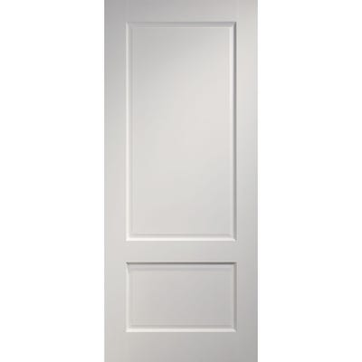 Deanta Internal White Primed Madison 2 Panel Door