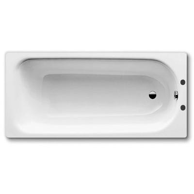 Kaldewei 1600mm Steel Bath & Metal Legs White