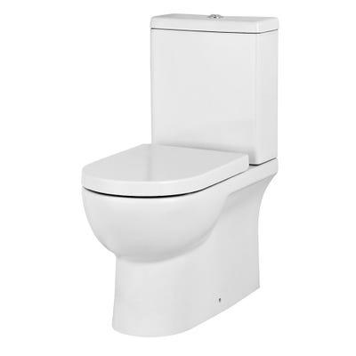 Saneux Austen Cistern White