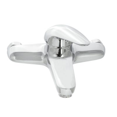 Alliance Barra Wall Mounted Bath Filler Tap Chrome