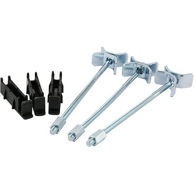 Unika Worktop Easibolt Holder & Bolt Pack