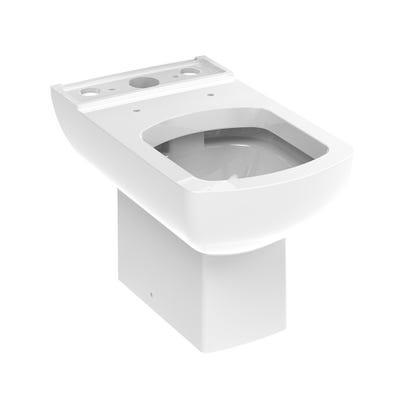 Saneux I-Line Close Coupled Toilet Pan White