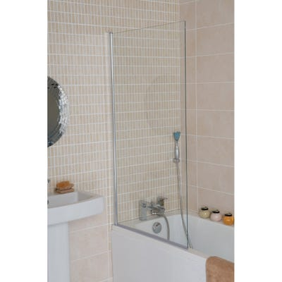 Alliance Troon Square Profile Bath Screen 800mm