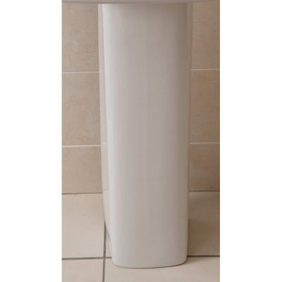 Alliance Skye Basin Pedestal Only White