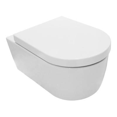 Saneux Austen Wall Hung Toilet Pan White