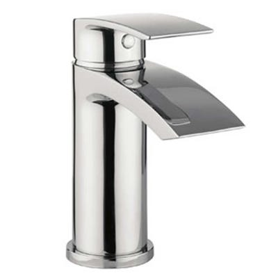 Crosswater Flow Basin Mixer Tap & Waste Chrome