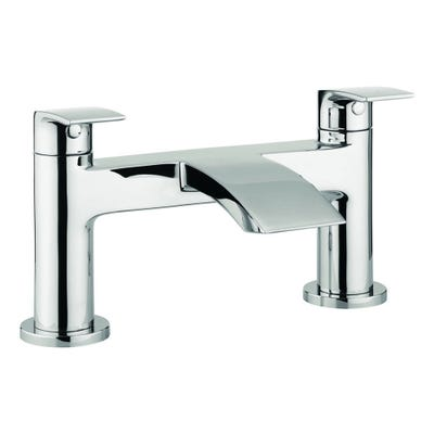 Crosswater Flow Bath Filler Tap Chrome