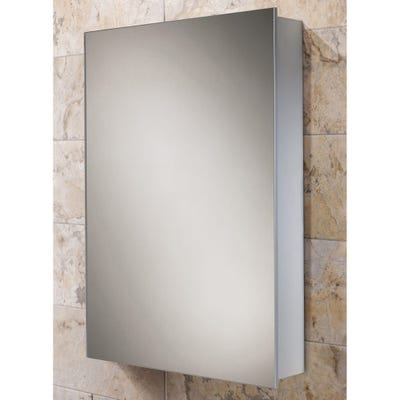 HIB Kore Single Door Slimline Mirror Cabinet