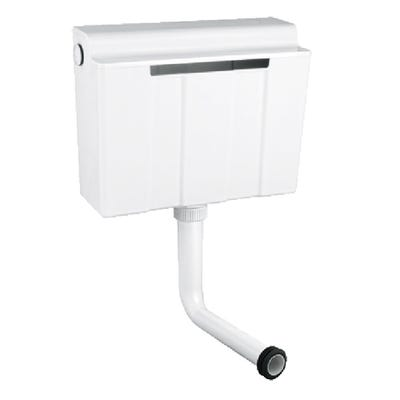 Grohe Concealed Dual Flush Cistern White