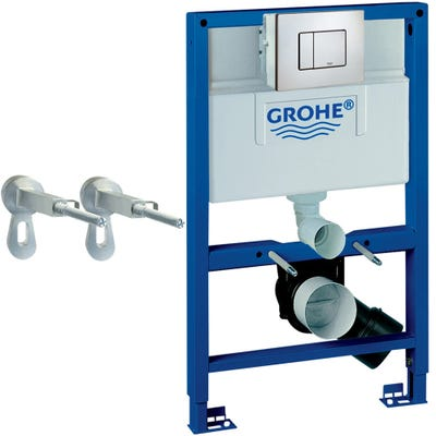 Grohe Rapid Sl 0.82m Pack & Frame Skate Plate & Fixings