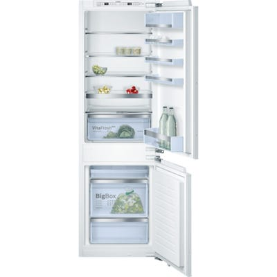 Bosch KIS86AF30G Serie 6 Low Frost Built In 60/40 Fridge Freezer