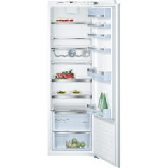 Bosch KIR81AF30G Serie 6 Integrated Single Door Fridge White Fixed Hinge