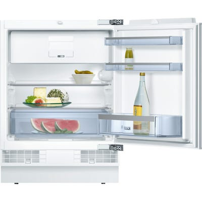 Bosch KUL15A60GB Serie 6 Integrated Under Counter Fridge & Ice Box White