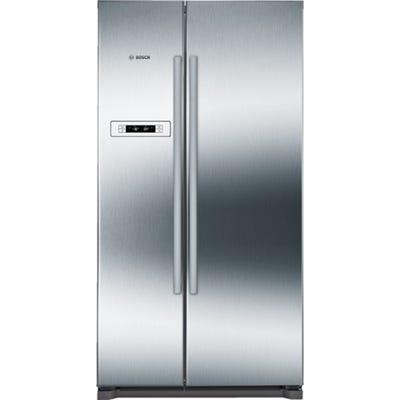 Bosch KAN90VI20G Serie 4 American Fridge Freezer Stainless Steel