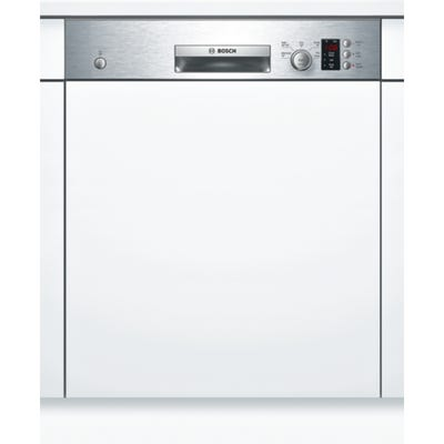 Bosch SMI50C15GB Serie 4 60cm Semi Integrated Dishwasher Silver