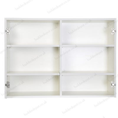 1000mm Kitchen Wall Unit White