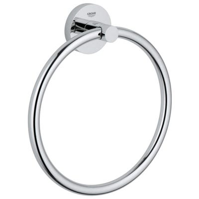 Grohe Essentials Towel Ring Chrome