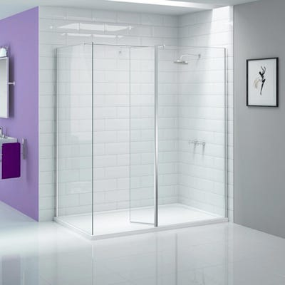 Merlyn Ionic 300mm Wetroom Swivel Panel