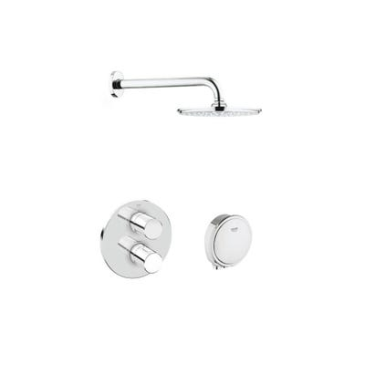Grohe Grohtherm 3000 Cosmopolitan Thermostatic Shower Pack Chrome