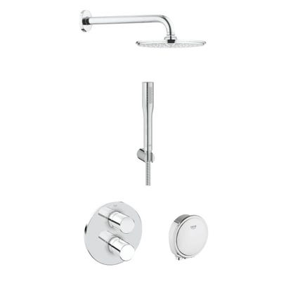 Grohe Grohtherm 3000 Cosmopolitan Thermostatic Bath Shower Kit Chrome