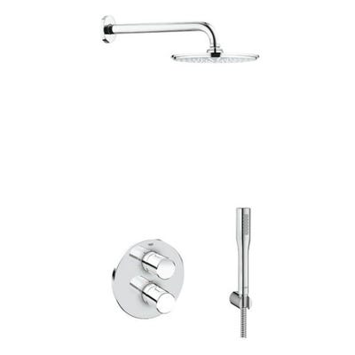 Grohe Grohtherm 3000 Cosmopolitan & Rainshower Pack Chrome
