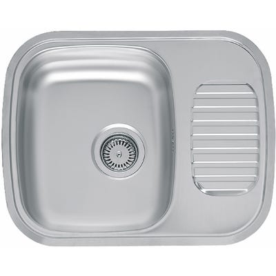 Reginox Regidrain-R Inset Single Bowl Sink & Drainer
