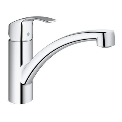 Grohe Eurosmart New Single Lever Sink Mixer Chrome