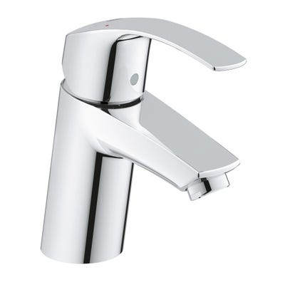 Grohe Eurosmart Regular Spout Smooth Basin Mixer Chrome