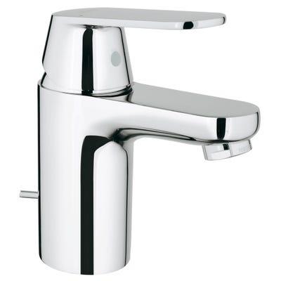 Grohe Eurosmart Standard Spout Basin Mixer & Pop Up Chrome