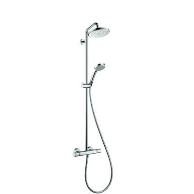 hansgrohe Croma 220 Showerpipe Shower System Chrome