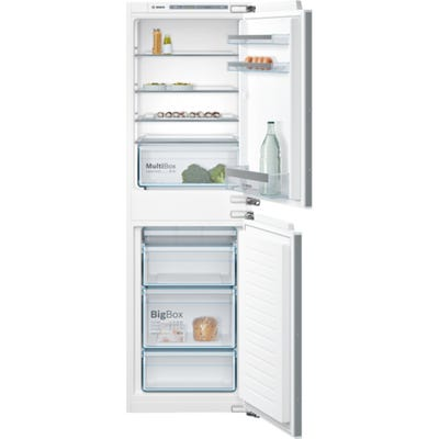 Bosch KIV85VF30G Serie 4 Low Frost Built In 50/50 Fridge Freezer