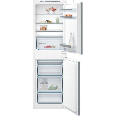 Bosch KIV85VS30G Series 4 50/50 Integrated Fridge Freezer White