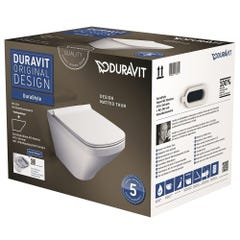 Duravit Durastyle Wall Mounted Toilet White