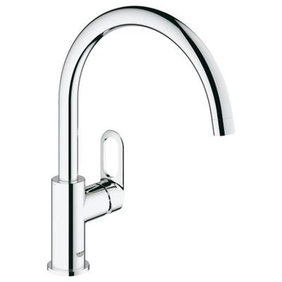 Grohe Bauloop Single Side Lever Sink Tap Chrome